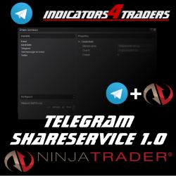 Telegram ShareService 1.0 for NinjaTrader 8